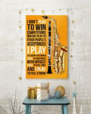 5 SAXOPHONE AND CLARINET - I DON'T PLAY TO WIN 11x17 Poster lifestyle-holiday-poster-3