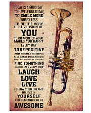 TRUMPET - TODAY IS A GOOD DAY POSTER 11x17 Poster front