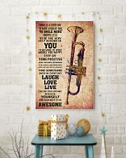 TRUMPET - TODAY IS A GOOD DAY POSTER 11x17 Poster lifestyle-holiday-poster-3