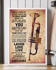 TRUMPET - TODAY IS A GOOD DAY POSTER 11x17 Poster lifestyle-poster-4