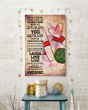 6-candlepin bowling- TODAY IS A GOOD DAY POSTER kd 11x17 Poster lifestyle-holiday-poster-3