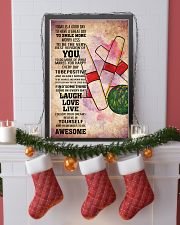 6-candlepin bowling- TODAY IS A GOOD DAY POSTER kd 11x17 Poster lifestyle-holiday-poster-4