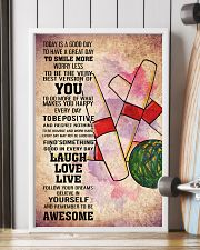 6-candlepin bowling- TODAY IS A GOOD DAY POSTER kd 11x17 Poster lifestyle-poster-4