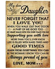 MY DEAR DAUGHTER 16x24 Poster front