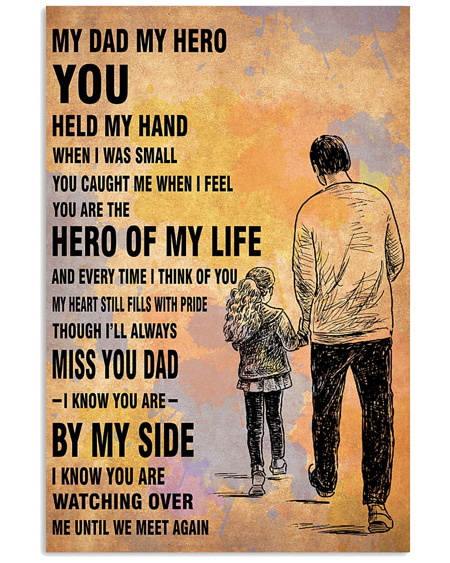 MY HERO YOU DAD 16x24 Poster
