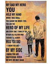 MY HERO YOU DAD 16x24 Poster front