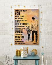 MY HERO YOU DAD 16x24 Poster lifestyle-holiday-poster-3