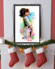 katare watercolor 16x24 Poster lifestyle-holiday-poster-4