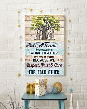 We are not a Team Poster 11x17 Poster lifestyle-holiday-poster-3