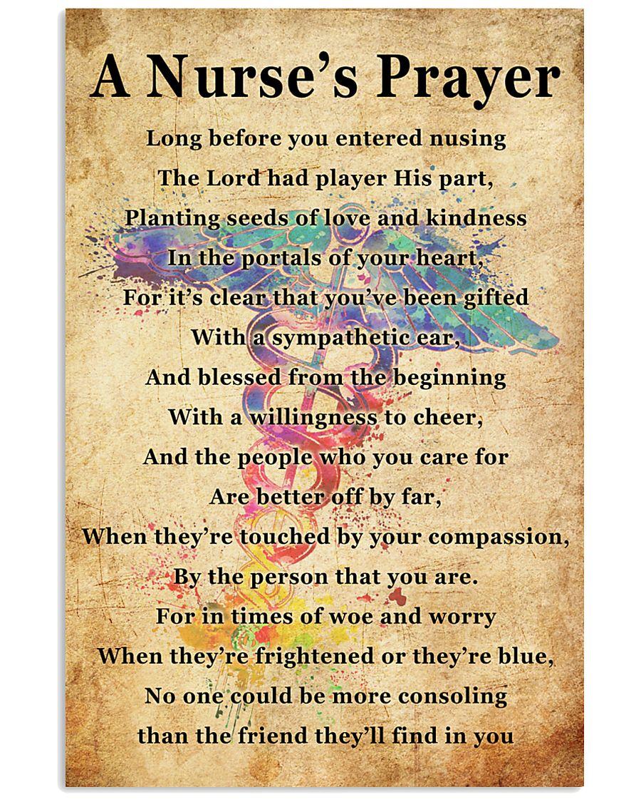 A NURSE PRAYER 11x17 Poster
