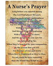 A NURSE PRAYER 11x17 Poster front