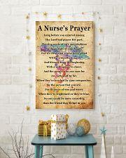A NURSE PRAYER 11x17 Poster lifestyle-holiday-poster-3