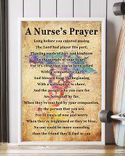 A NURSE PRAYER 11x17 Poster lifestyle-poster-4