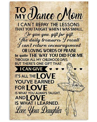 Dance - Loving Words Poster SKY