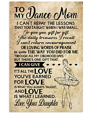 Dance - Loving Words Poster SKY 11x17 Poster front