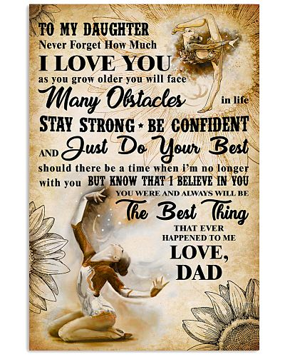 TO MY DAUGHTER - I LOVE YOU- Gymnastics 2