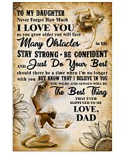 TO MY DAUGHTER - I LOVE YOU- Gymnastics 2 11x17 Poster front