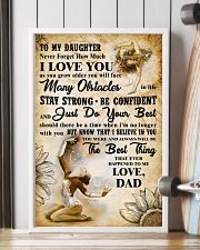 TO MY DAUGHTER - I LOVE YOU- Gymnastics 2 11x17 Poster lifestyle-poster-4