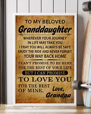 TO MY BELOVED GRANDDAUGHTER GRANDPA 16x24 Poster lifestyle-poster-4