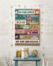 IN THIS OFFICE - WE ARE LIBRARIANS 11x17 Poster lifestyle-holiday-poster-3