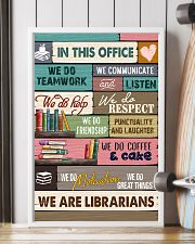 IN THIS OFFICE - WE ARE LIBRARIANS 11x17 Poster lifestyle-poster-4