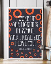 April- I WOKE UP ONE MORNING 16x24 Poster lifestyle-poster-4