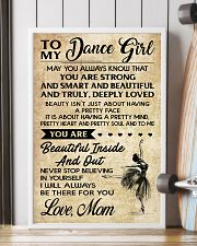 TO MY Dance GIRL - MOM 16x24 Poster lifestyle-poster-4