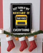 6 JUST TURN IT OFF 16x24 Poster lifestyle-holiday-poster-4
