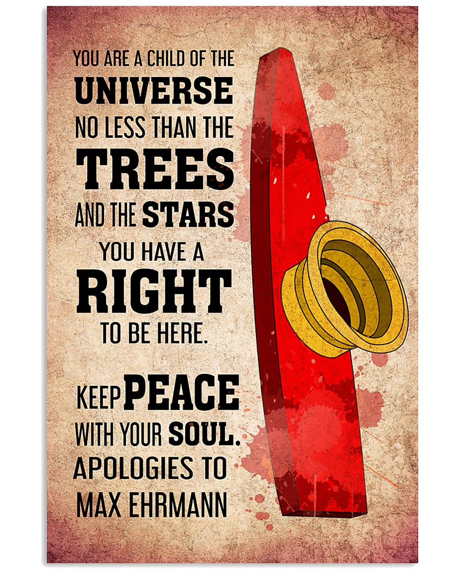 KAZOO - YOU ARE A CHILD OF THE UNIVERSE POSTER KD 11x17 Poster