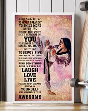 teawondo- TODAY IS A GOOD DAY POSTER 16x24 Poster lifestyle-poster-4