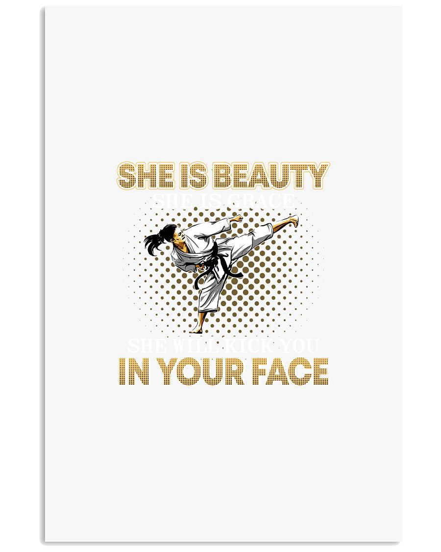 TAEKWONDO SHE IS BEAUTY 11x17 Poster
