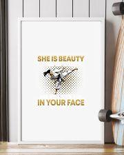 TAEKWONDO SHE IS BEAUTY 11x17 Poster lifestyle-poster-4
