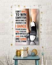 I DON'T DANCE TO WIN COMPETITION - TAP DANCE 11x17 Poster lifestyle-holiday-poster-3