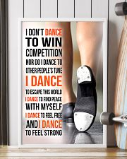 I DON'T DANCE TO WIN COMPETITION - TAP DANCE 11x17 Poster lifestyle-poster-4