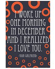 December- I WOKE UP ONE MORNING 16x24 Poster front