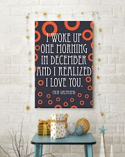 December- I WOKE UP ONE MORNING 16x24 Poster lifestyle-holiday-poster-3