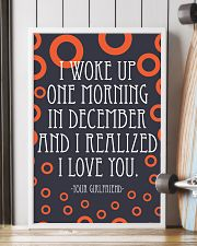 December- I WOKE UP ONE MORNING 16x24 Poster lifestyle-poster-4