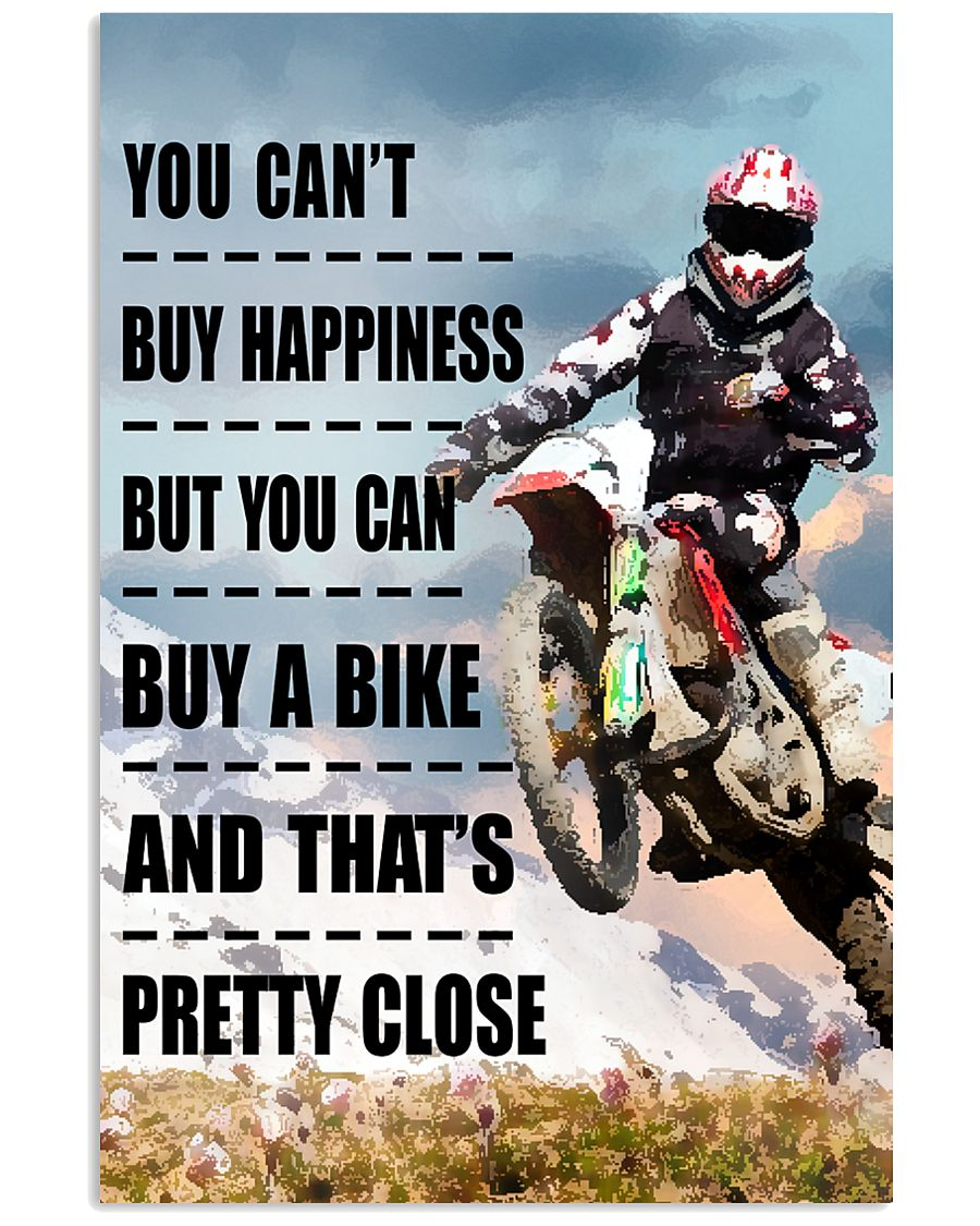 YOU BUY HAPPINESS MOTOCROSS 11x17 Poster
