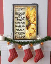 Nursing Assistant is prayer let me  11x17 Poster lifestyle-holiday-poster-4