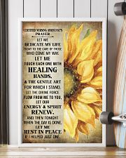 Nursing Assistant is prayer let me  11x17 Poster lifestyle-poster-4