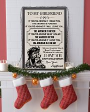 TO MY GIRLFRIEND - I LOVE YOU 16x24 Poster lifestyle-holiday-poster-4