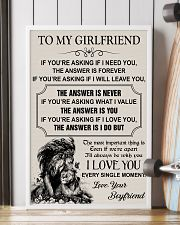 TO MY GIRLFRIEND - I LOVE YOU 16x24 Poster lifestyle-poster-4