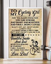 TO MY cycling GIRL- DAD 16x24 Poster lifestyle-poster-4