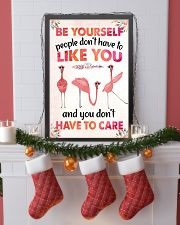 003 Flamingo - Be Yourself Poster STAR 11x17 Poster lifestyle-holiday-poster-4