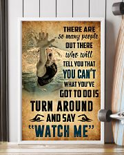 SWIMMING - THERE ARE SO MANY PEOPLE POSTER SKY 11x17 Poster lifestyle-poster-4