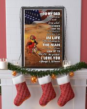 motocross - to my dad so much of me poster - SR 11x17 Poster lifestyle-holiday-poster-4