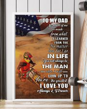motocross - to my dad so much of me poster - SR 11x17 Poster lifestyle-poster-4