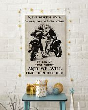 Motocross Fight Them Together Poster 11x17 Poster lifestyle-holiday-poster-3