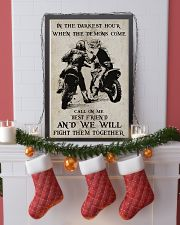 Motocross Fight Them Together Poster 11x17 Poster lifestyle-holiday-poster-4