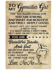 1 TO MY  Gymnastics Girl 11x17 Poster front